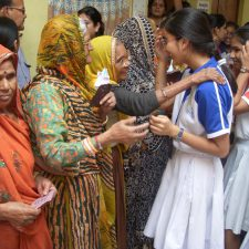Visit to Oldage Home